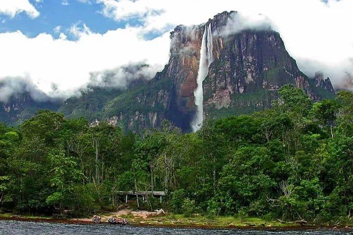 Los increíbles bosques que rodean la cascada. Foto: Vix.