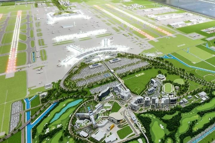 ¿Qué te parece la maqueta del aeropuerto? Foto: Incheon Airport