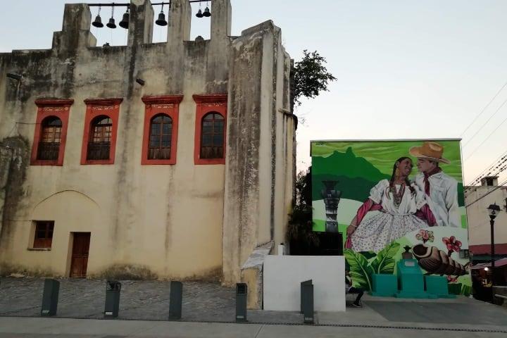 Maravilloso mural de Rutas Mágicas de Color. Foto: El Souvenir.