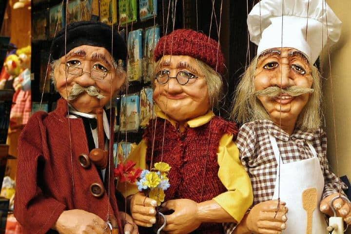 Marionetas de República Checa Foto: Guías viajar