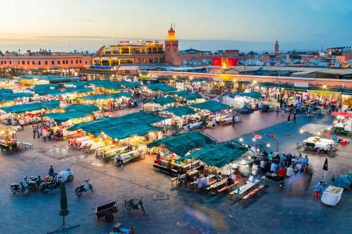 Este es el pueblito Marrakech. Foto: 65 y más.