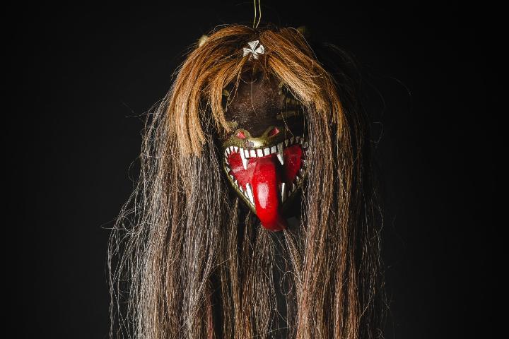 La máscara es una de las artesanías de Sonora Foto: Archivo