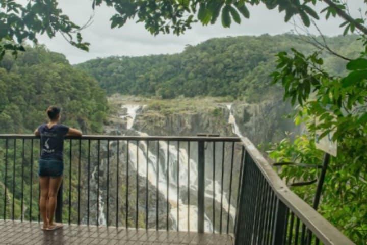 Mirador Din Din Barron Falls Foto Queensland