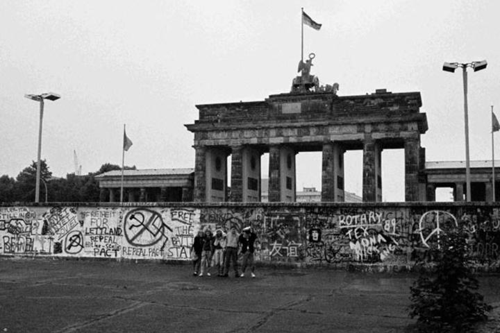 El muro de Berlín separaba a la Alemania Comunista de la capitalista. Foto: 7 de junio.