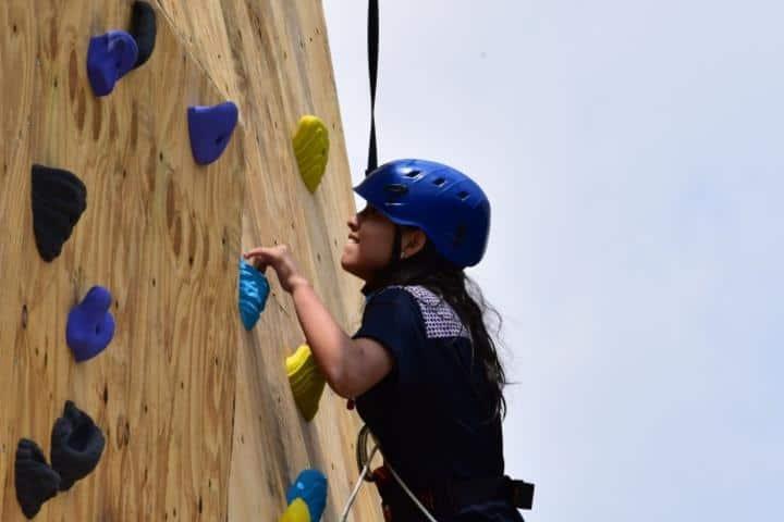 Muro de escalar Foto página oficial | Facebook