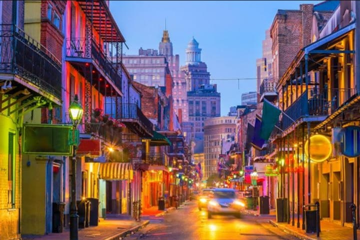 Calles de Nueva Orleans Foto: Lonely planet