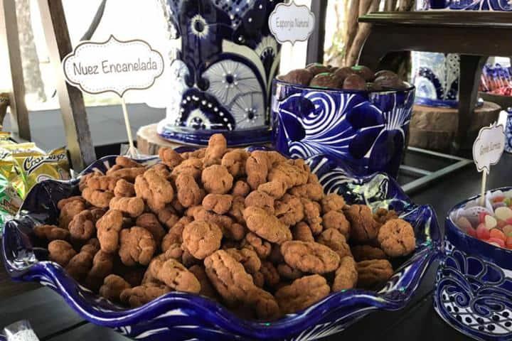 Nuez Encaneladas Foto: Gourmet de México