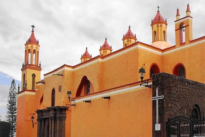 Parroquia de San Juan Bautista Foto Archivo