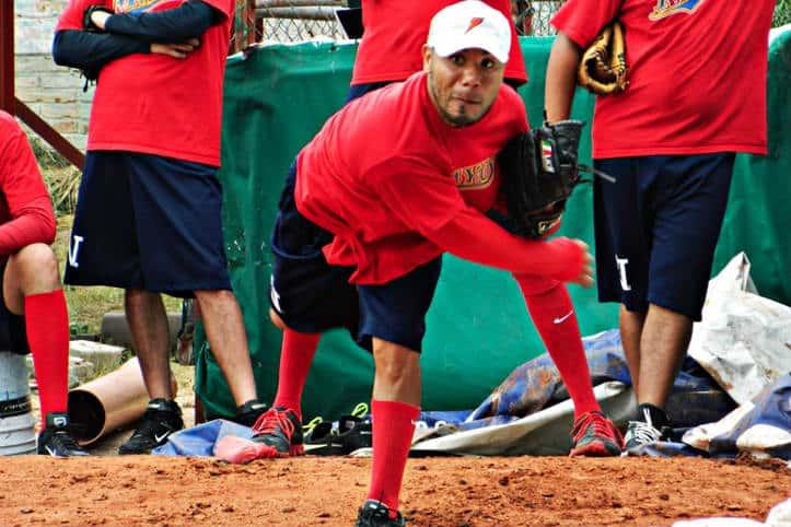 Partido de beisbol – Foto Los MAyos