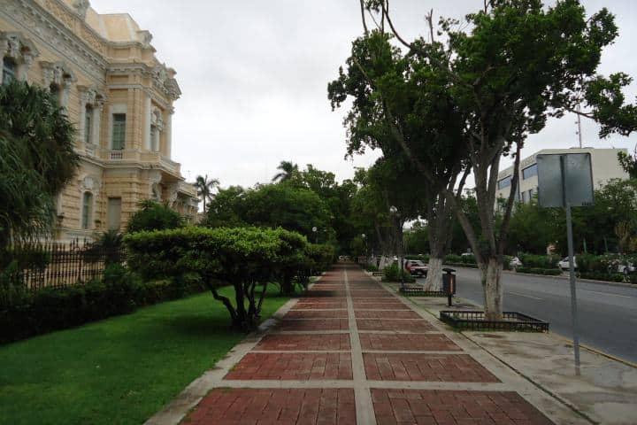 Paseo de Montejo Foto: Archivo