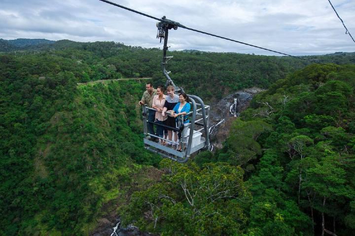 Paseo en las alturas Foto: Travel Online