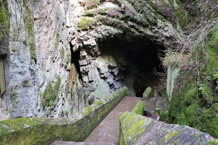 Pasillo a la gruta Foto: Pueblos Mágicos de México