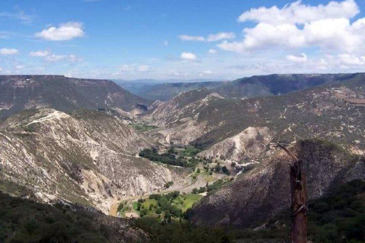 Peña del aire. Pueblos mágicos de México