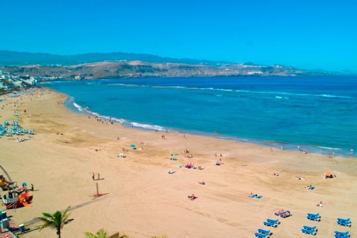 Playa Las Canteras Foto: Cataluña Press