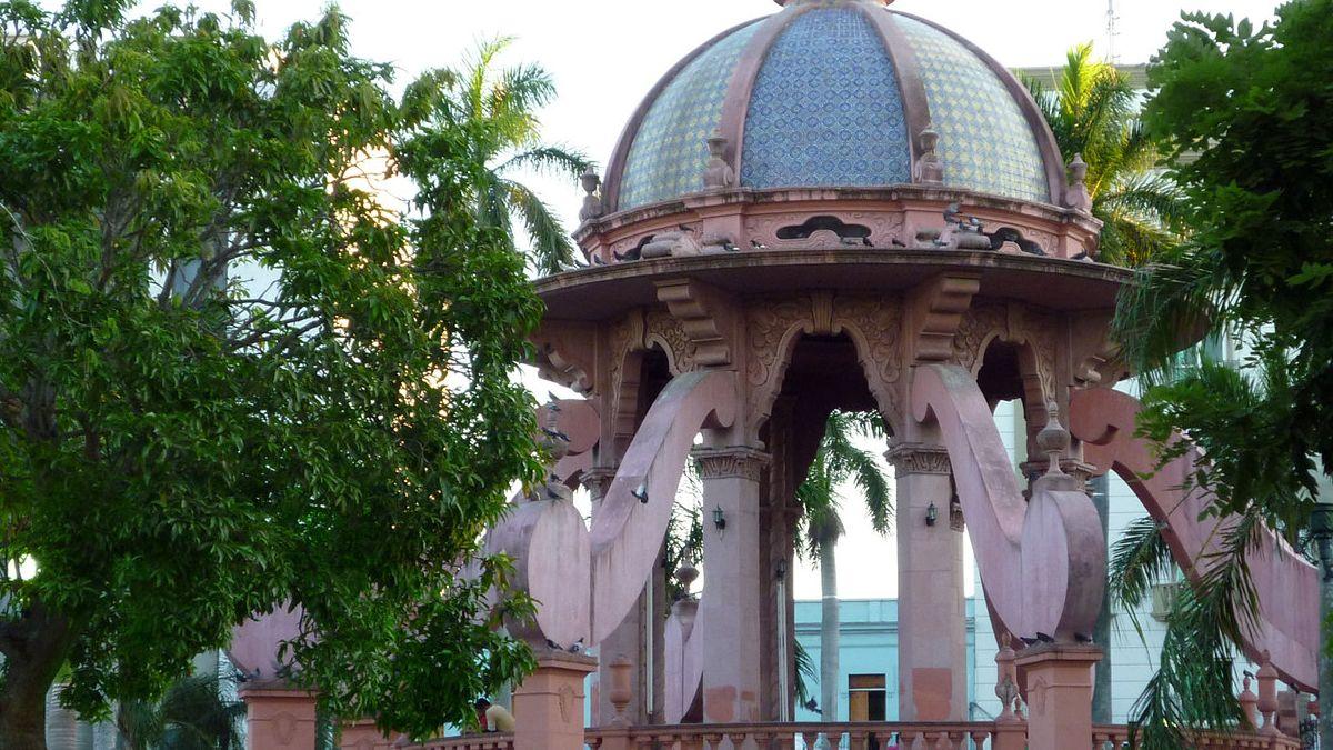Plaza de la libertad, Tamaulipas. Foto por Paco Garin