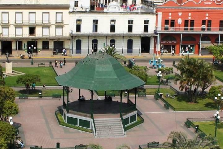 Plaza de la libertad en Tamaulipas
