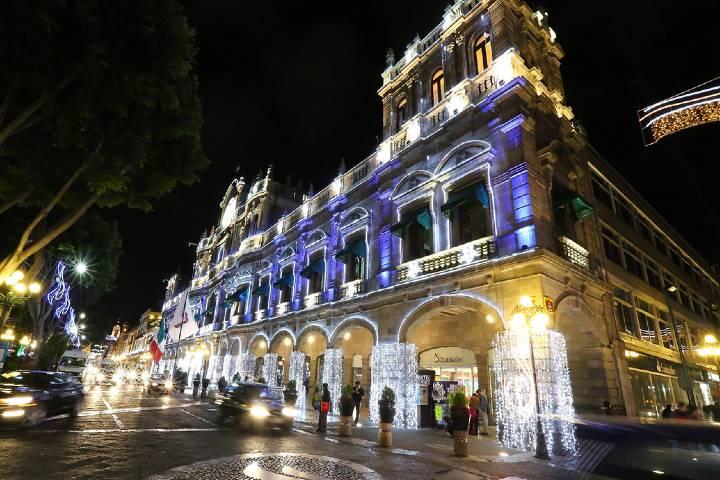 Centro histórico de Puebla Foto: más-méxico.com.mx