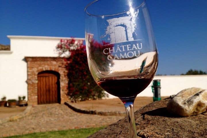 Vino Chateau Camou. Foto: Baja Scene.