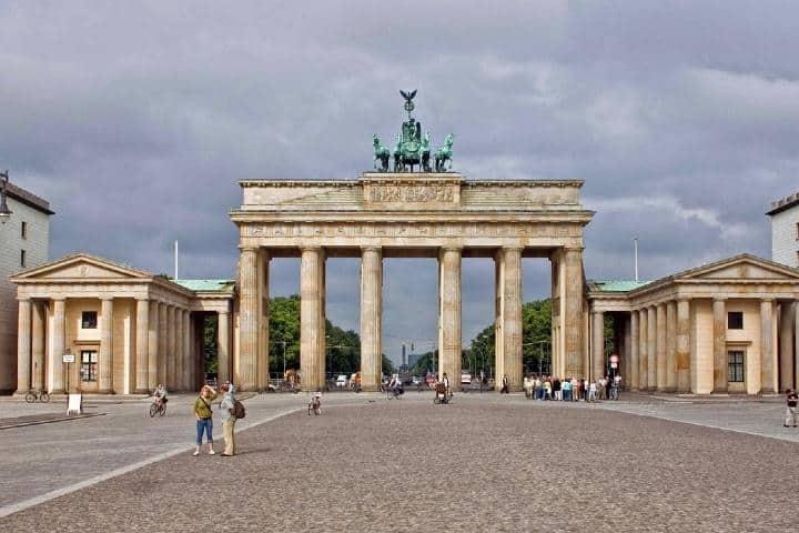 Puerta de Brandeburgo. Foto: Pierre-Selim Huard.