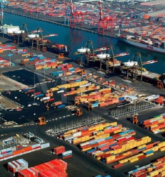 La impresionante vista de la Terminal Marina del Puerto Newark-Elizabeth, ¿Qué te parece? Foto: Mega Construcciones