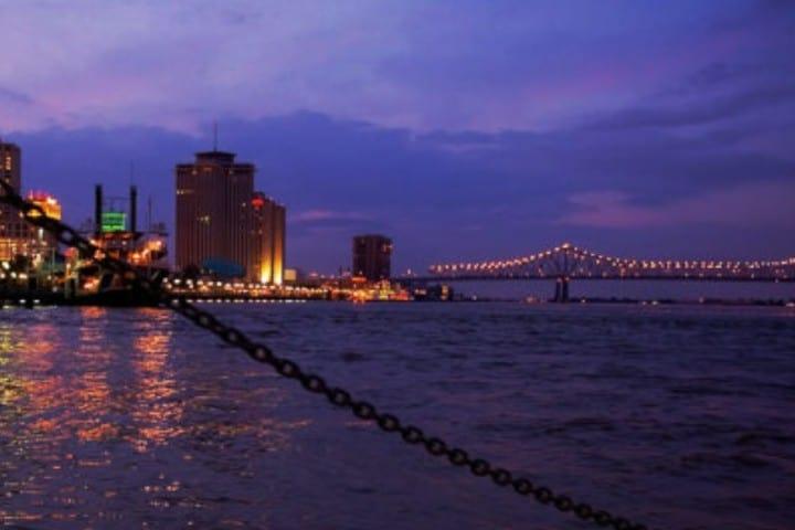 Puerto de Nueva Orleans Foto: Vivir en