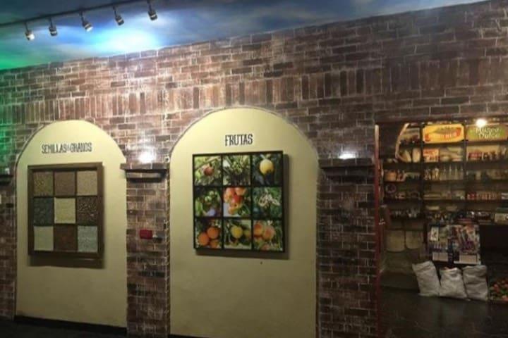 Sala de las frutas, granos y semillas. Foto: negritiboniti