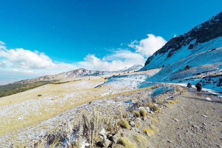 Senderismo en el Nevado de Toluca Foto: lalojardon1 | instagram
