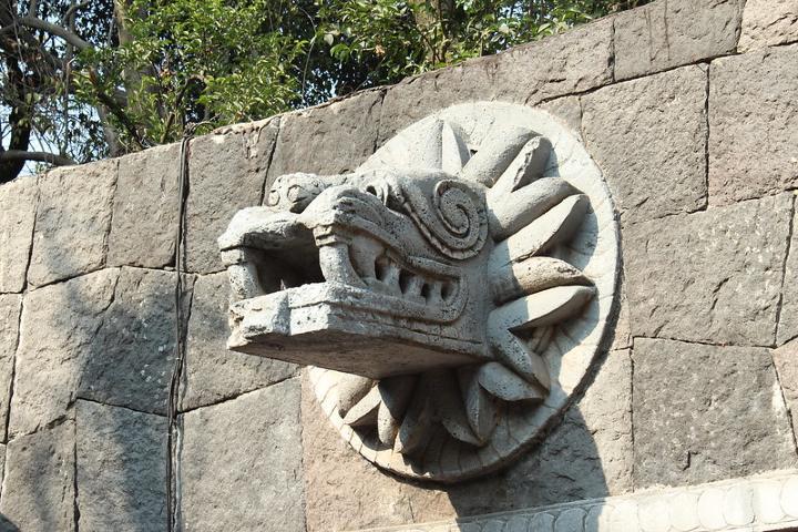 Serpiente emplumada principal Dios de los Mexicas. Foto: Susana Mejía.