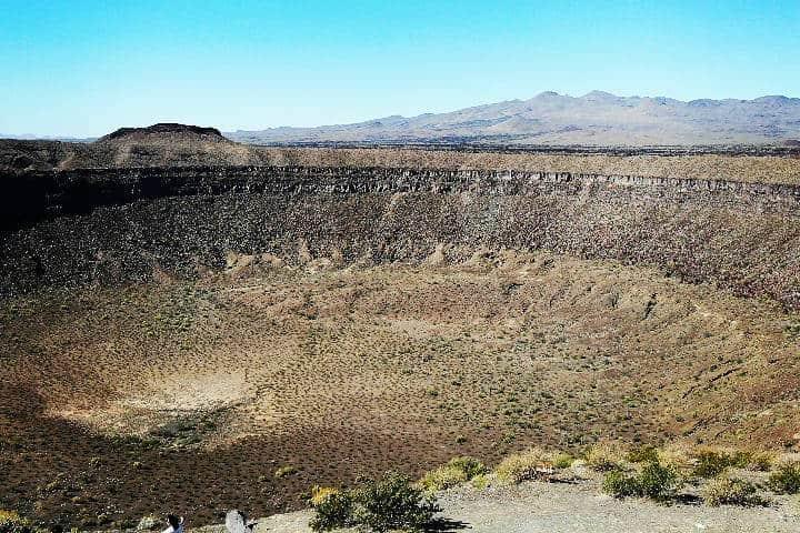 Sierra del Pinacate Cráter El Elegante Foto Turismo Taruk