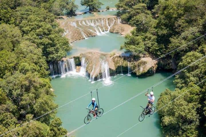 ¿Qué esperas para deleitarte con la preciosa vista que ofrecen las cascadas? Foto: Travesía Viajera QRT