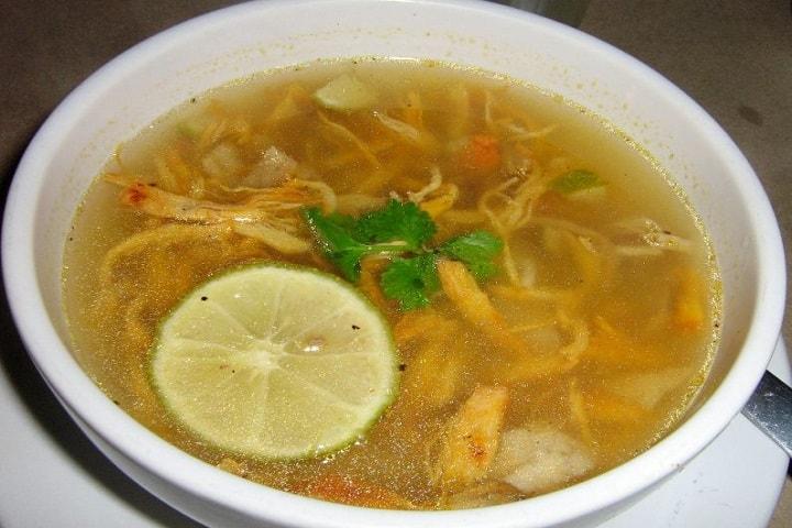 Sopa de Lima Foto: Archivo