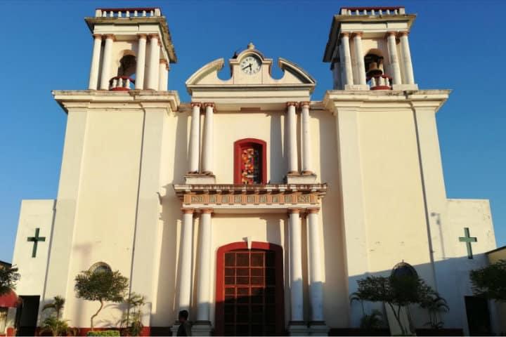 Templo de San Pedro, Coquimatlán - Foto Luis Juárez J.