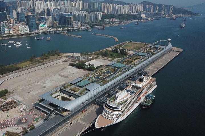 ¡Qué imponente se ve la Terminal Kai Tak! Foto: South China Morning Post