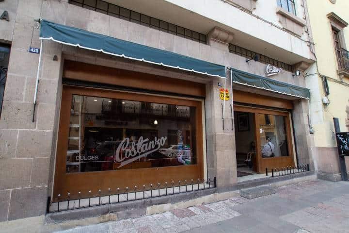 Tienda Dulces Costanzo Foto: Ayuntamiento de SLP