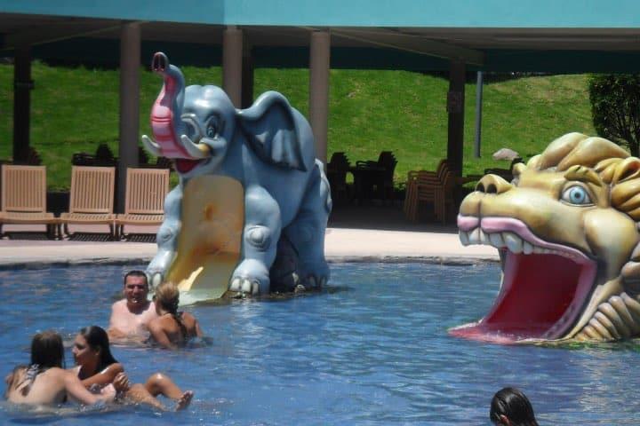 Todos pueden disfrutar de las atracciones acuáticas Foto México Alternativo
