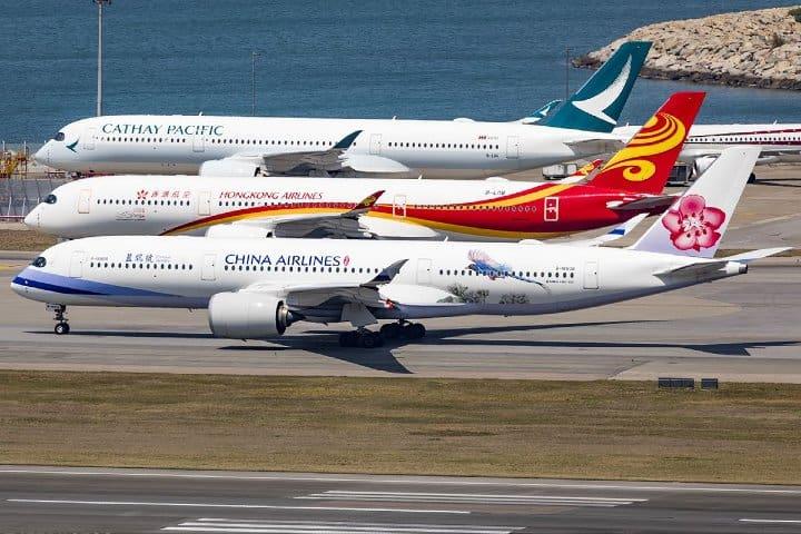 Aeropuerto Internacional de Hong Kong. Foto: Jetphotos.