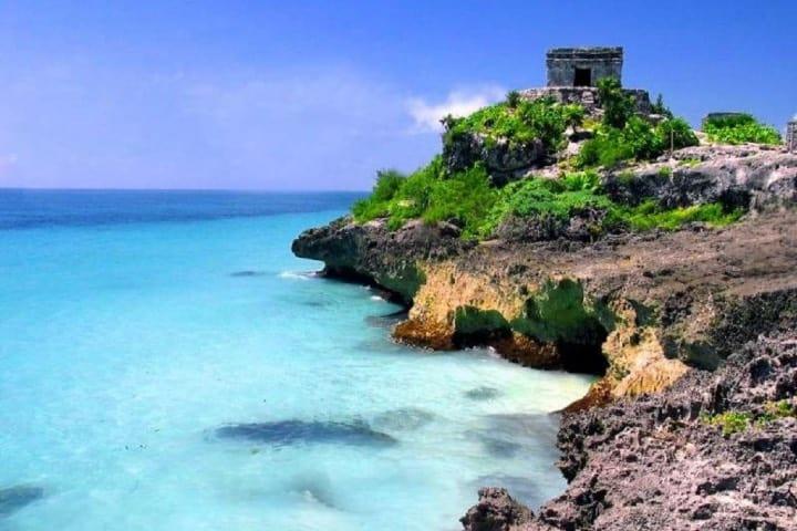 Tulum en el corazón de la Riviera Maya Foto: Archivo