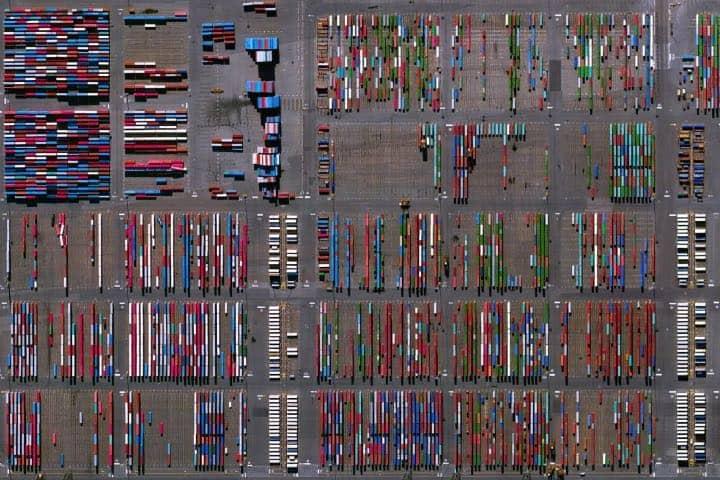 Vista aérea del Puerto NYNJ Foto: Archivo