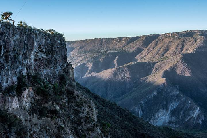 Vista al barranco desde un mirador Foto: Gerardo Galíndez