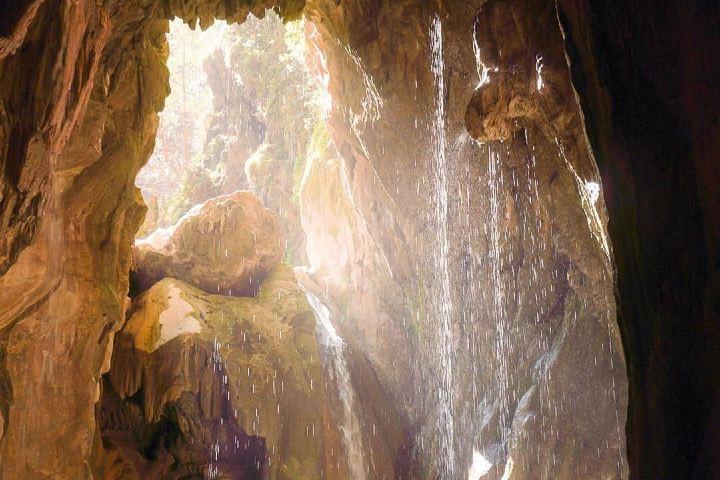 Vista desde una de las cuevas Foto: Espíritu Curioso