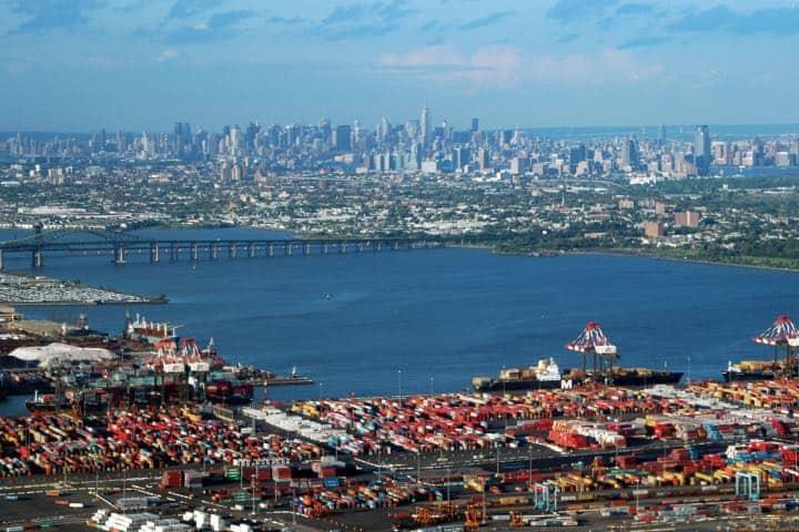 Vista que muestra al puerto y Nueva York Foto: Archivo