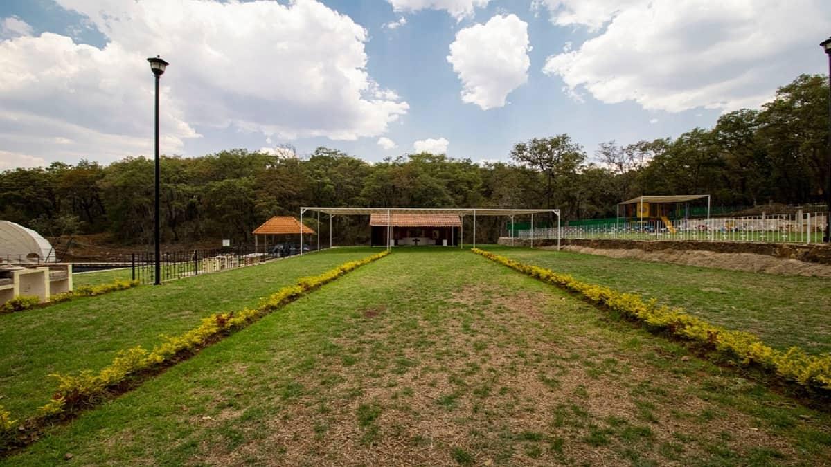 ¡Admira la preciosa vista del jardín del EcoParque! Foto José Eduardo