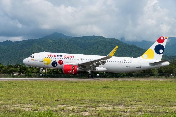 Viva Air cumple con los protocolos de sanidad para los viajeros Foto Viva Air