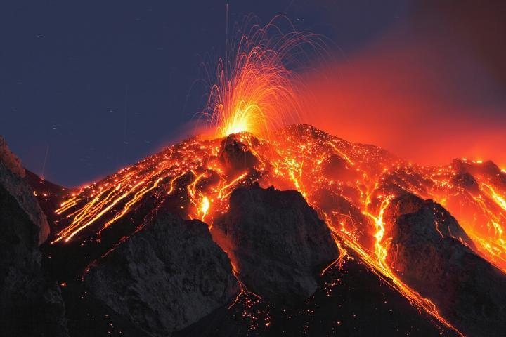 Volcán Stromboli Foto: conoce Italia