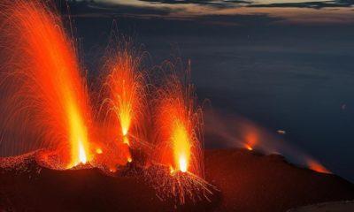 Volcán Stromboli Foto: Volcano Discovery