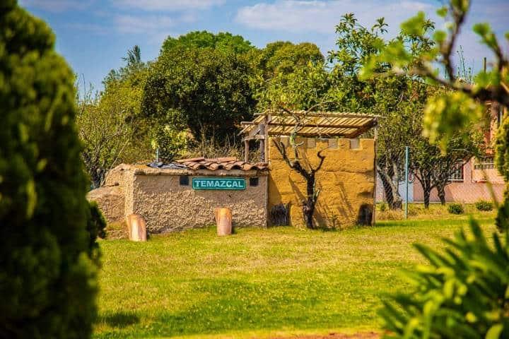 Zona de Temazcal Foto: Cabañas Los Jilgueros