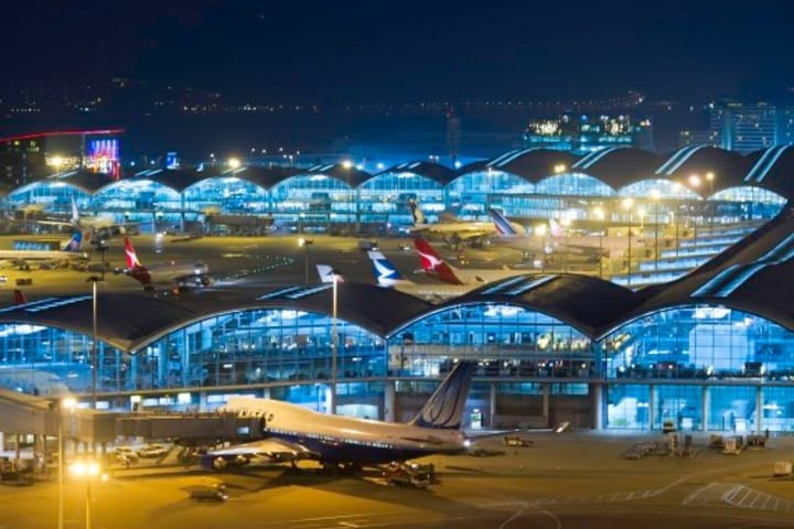 Aeropuerto Internacional de Honk Kong. Foto: Argos 360.