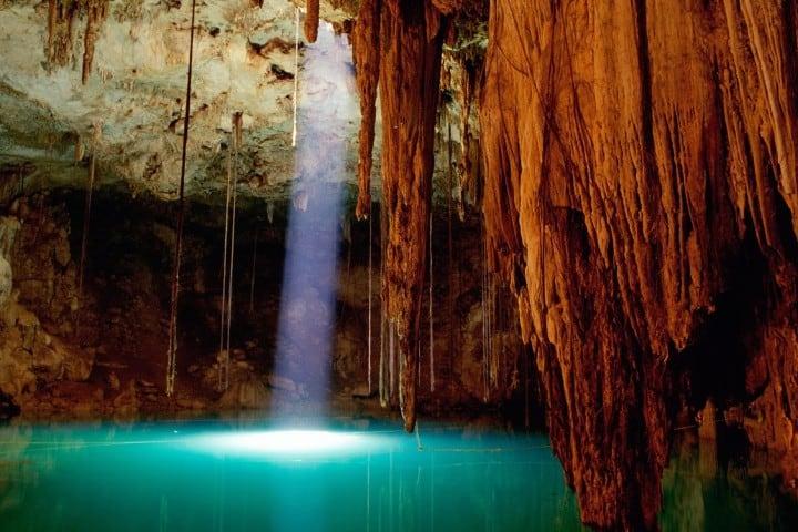 Cenote Bolom Chojol Foto: México novedades y realidades