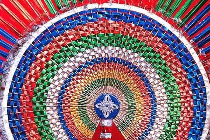 Corona de los danzantes. Foto: Archivo.