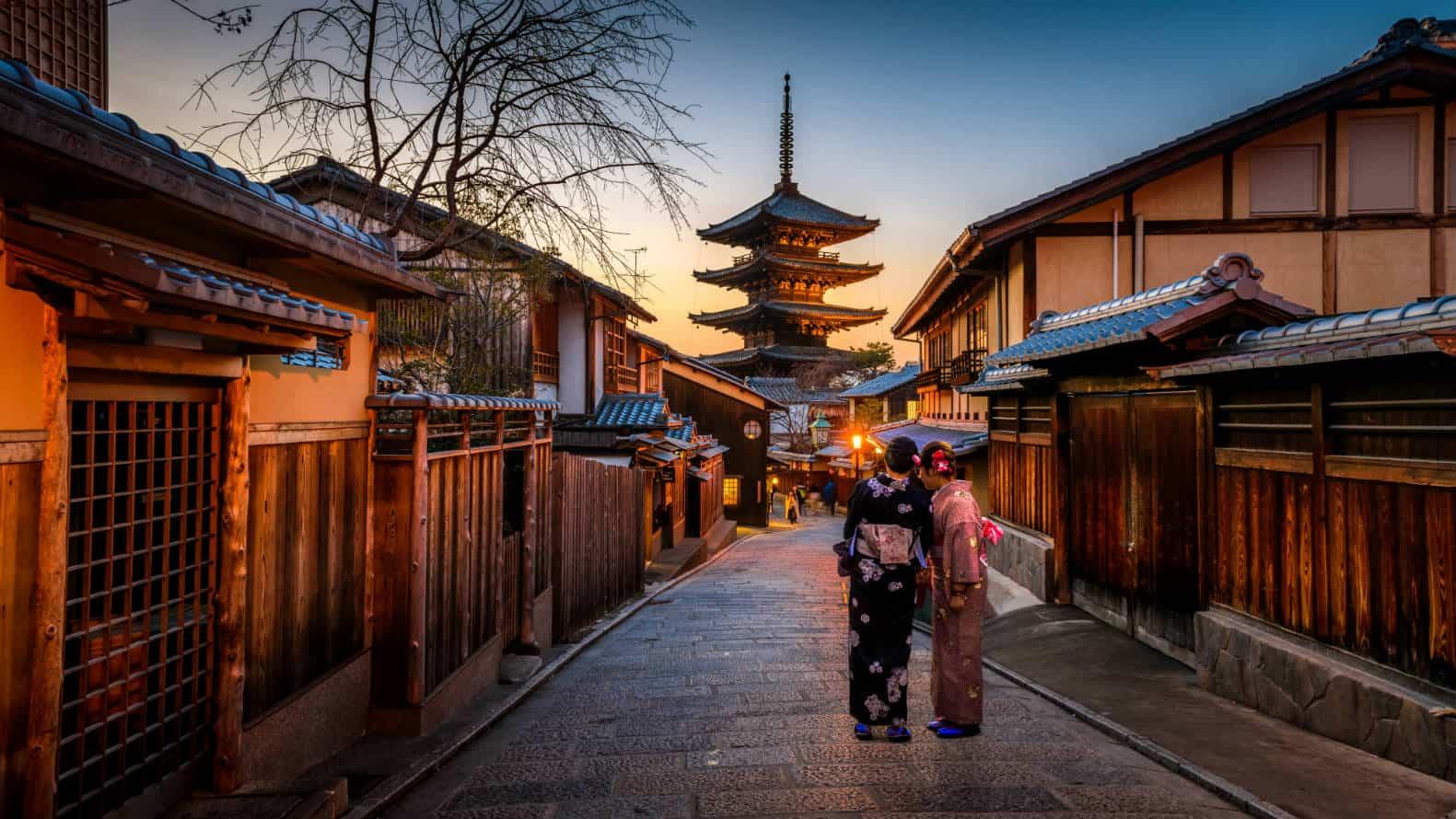 portada Kioto Distrito de Gion Foto Sorasak Unsplash